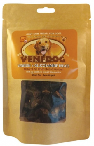 Veni Dog - Venison - Glucosamine Treats - 75gm